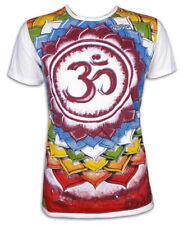 Mirror señores t-shirt símbolo om Lotus-floración mandala Psychedelic Goa yoga M L XL