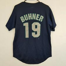 Vtg SEATTLE MARINERS Jersey JAY BUHNER Majestic USA Mens M MLB Players