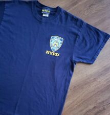 2006 Almost Vintage NYPD Police Department City Of New York XL Blue T-shirt