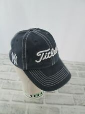 Titleist NY Yankee Baseball Golf Hat Cap Adjustable Blue 3D embroidered Logo NEW