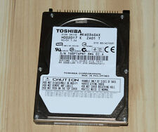 "Toshiba MK6034GAX 60G 60 GB Internal 5400 RPM 2.5"" IDE Hard Drive For Laptop HDD"