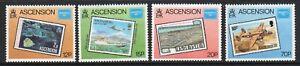 Ascension 1986 Ameripex set fine fresh MNH