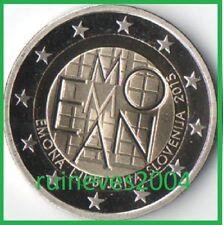 Pièces euro de la Slovénie pour 2 euro année 2015