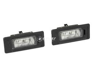 OEM Genuine License Plate Light Audi A1 A3 A4 A5 A6 A7 Q3 Q5 Q7 TT 4G0943021A