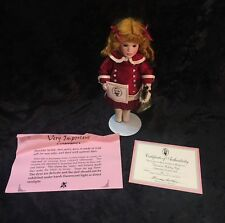 """2005 Wendy Lawton """"Dressed in Holiday Style"""" Doll Ltd Ed Christmas Coll #64/175"""