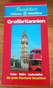 Baedeker Reiseführer Großbritannien - Sammlerstück 1. Auflage ca 1980 ungelesen