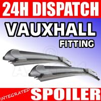 "For Vauxhall Vivaro 2001 24/""21/""Dynamic Wiper Blades Aero Flat Windscreen 24/""21 U"