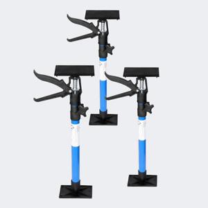 Zargenspanner 3er Set für Türrahmen stufenlos 51-115cm mit 30kg Tragkraft