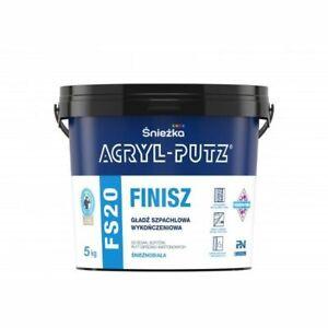 Gipsspachtel Feinputz Gebrauchsfertig ACRYL-PUTZ® FS 20 FINISH 1,5kg I 5kg