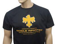 Starship Troopers 80s inspired mens film t-shirt - Mobile Infantry