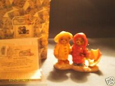 Cherished Teddies Joey & Lindsey We can weather any storm together 1999