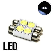 2x Ford Focus MK1 1.6 Xenon White Superlux LED Licence Number Plate Light Bulbs