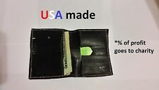 Eco-friendly wallet hand-made from bike tubes & PART OF PROFIT GOES TO CHARITY!!