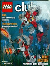 2012 Lego Club Magazine: Dino Dinosaurs/Lego Super Heroes/Online Game Guide