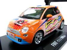 NOREV 2008 FIAT 500 WROOOM MICHAEL SHUMACHER Orange1/18