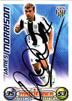 West Bromwic Albion F.C Morrison Hand Signed 08/09 Championship Match Attax.