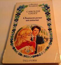 Book in French CHANSON POUR UN AMOUR Livre en Francais COLLECTION 4 COULEURS