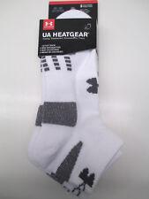 Under Armour Youth Boys Girls HeatGear Lo Cut Athletic Socks U251 3pk