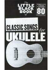Learn to Play The Little Black Of Classic Songs POP Hits Ukulele UKE MUSIC BOOK