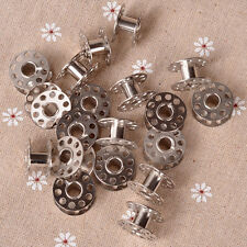 20pcs Sewing Machine Bobbins Stainless Metal For Kenmore Viking Singer _Wk
