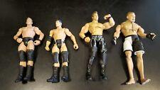 """4 UFC Jakks Wrestling Figures 1 is Brock Lesner 7.5"""" Lot WWE"""