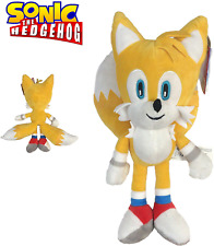 """Sonic - Plush toy Tails Miles Prower 13 """"/ 33cm yellow color Super soft quality"""