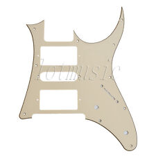 Cream Electric Guitar Pickguard HSH Replacement Ibanez RG250,7V PVC