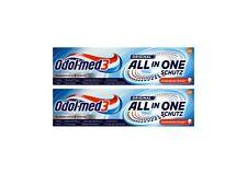 2x Odol-Med 3 Zahnpasta All in One Original, 75 ml Zuckersäuren-Schutz