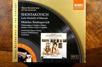 Shostakovich - Lady Macbeth Of Mtsensk, Mstislav Rostropovich  - CD, VG, EU