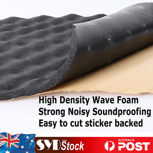 High Density Wave Foam Strong Soundproofing Studio Acoustic Absorption Barrier
