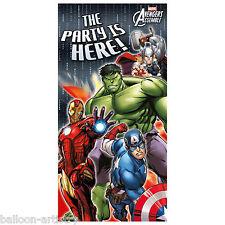 Marvel's Avengers Heroes Para Niños Fiesta Cumpleaños Puerta Cartel Banner Decoración