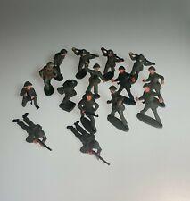 15 alte verschiedene NVA Spielzeug Soldaten DDR Konvolut