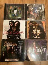 Alice Cooper 6 CD´s Sammlung