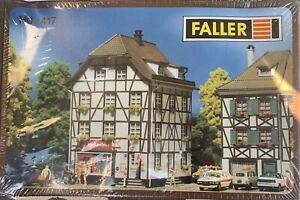 FALLER HO Castle Pharmacy Corner Building Kit NEW