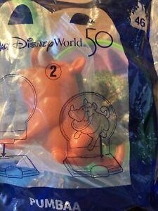 Pumbaa #46 Walt Disney World 50th Anniversary McDonald's 2021 Happy Meal Toy