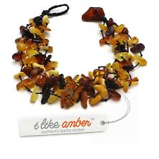 Baltic Amber Necklace & Bracelet Genuine Amber Beads Adult Size SET possible