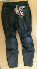 Akito G-Force Leather Ladies Motorcycle Motorbike Trousers, Size 14