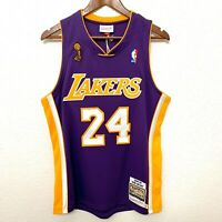 100% Authentic Kobe Bryant Mitchell & Ness 08-09 Finals Jersey Lakers SIZE Small