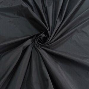 Black Taffeta Fabric 150 cm Width Free UK p&p Superior Quality Taffeta Fabric