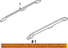 FORD OEM Roof Rack Luggage Carrier-Side Rail Left 7L1Z4055115CA