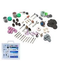 BlueSpot Rotary Tool Accessory Kit 138Pc Sanding Polishing Grinding Fits Dremel