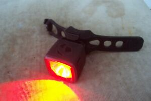 Bontrager Flarer City powerful usb rear bike light with quick release.