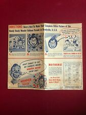 "1950's, Howdy Doody, ""Wonder Bread Premium"" (Scarce / Vintage)"
