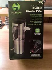 Smartgear Stainless Steel Programmable Heated Travel Mug 12V w/ Lcd Display