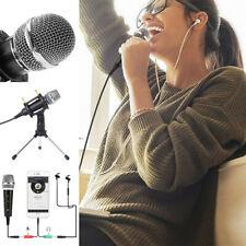 Mini 3,5 mm Mikrofon Mic Schwarz für Handy Smartphone Laptop EQ EQ