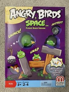 ANGRY BIRDS SPACE MATTEL BRAND NEW / SEALED NIB MINT GAME PLANET BLOCK VERSION