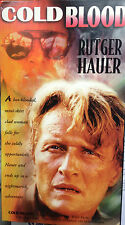 Cold Blood (VHS) 1975 action thriller stars Rutger Hauer