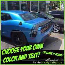 Dodge Challenger Bumble Bee Belt Racing Stripe 2009 2010 2011 2012 2013 2014 20