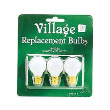 Department 56 Accessories Round Light Bulb Replacements (56.99245)