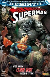 °REBIRTH: SUPERMAN #2 WER KANN CLARK NOCH RETTEN?°  NEU Panini 2017